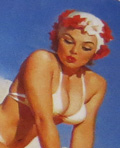 Gil Elvgren - Second Thoughts
